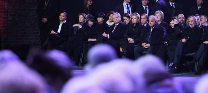 Lithuanian President Commemorates Holocaust Victims in Poland
