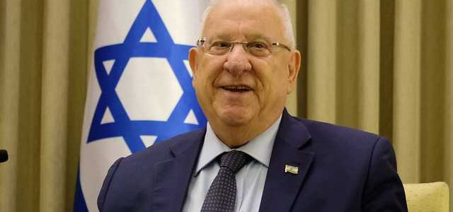 Yom haAtzma'ut Greetings from Israeli President Rivlin