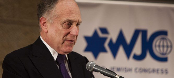 Президент Всемирного еврейского конгресса: Речи не остановят антисемитизм