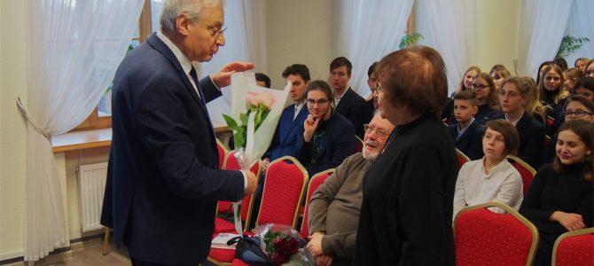 Международный день памяти жертв Холокоста в Вильнюсской гимназии ОРТ им. Шолом-Алейхема