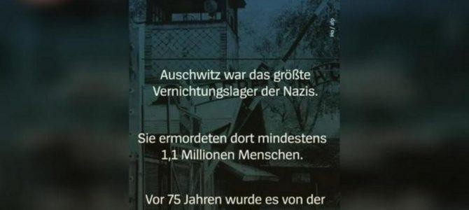 Der Spiegel извинился за опечатку об освобождении Освенцима армией США