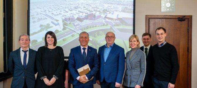 Посол Израиля в Литве Й. Леви посетил Каунас