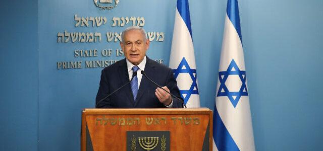 Netanyahu teigia: jei užsikrėtusiųjų skaičius Izraelyje nesumažės per 2 dienas, šalyje bus viskas visiškai uždaryta, nes tai vienintelė galimybė