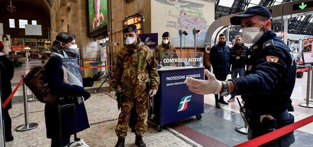 Italijos žydų gyvenimas pandemijos akivaizdoje