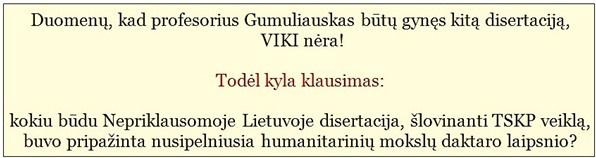 """Nuogas faktas: Nepriklausomoje Lietuvoje tekstas """"Aleliuja TSKP"""" buvo pripažintas vertu daktaro laipsnio"""