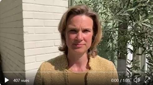 Katharina von Schnurbein Sends Passover Greetings