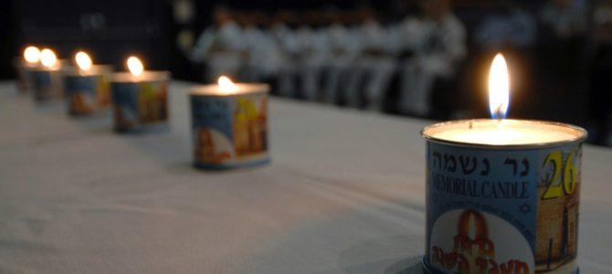Pasaulis mini Holokausto atminimo dieną Yom HaŠoa