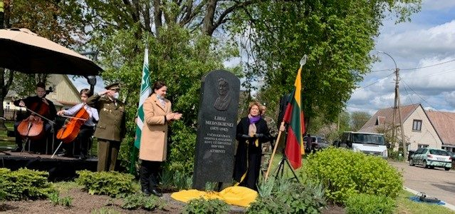 Liba Mednik Commemorated in Širvintos, Lithuania