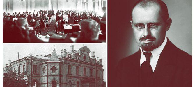 100 metų, kai Steigiamasis Seimas Lietuvos valstybę paskelbė LIETUVOS RESPUBLIKA,