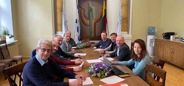"""LSK """"Makabi"""" tarybos posėdžio sprendimai"""