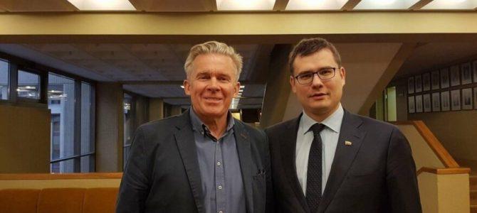 Audronius Ažubalis, Laurynas Kasčiūnas. Reaguojant į Linkevičiaus atsakymą dėl prašymo peržiūrėti nuostatas dėl Jono Noreikos-Generolo Vėtros