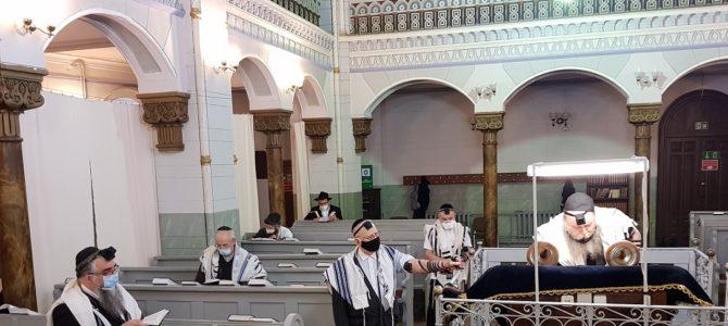 В Вильнюсской Хоральной синагоге вновь звучит молитва