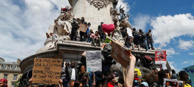 Еврейские организации возмущены антисемитскими выкриками на акции протеста против расизма в Париже