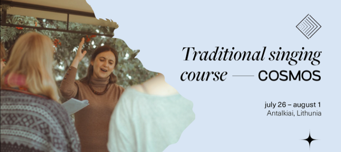 Tradicinio dainavimo kursai 2020 – žydų tradicinio dainavimo mokymai