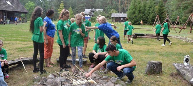 Informacija apie Skautų stovyklą liepos mėnesį