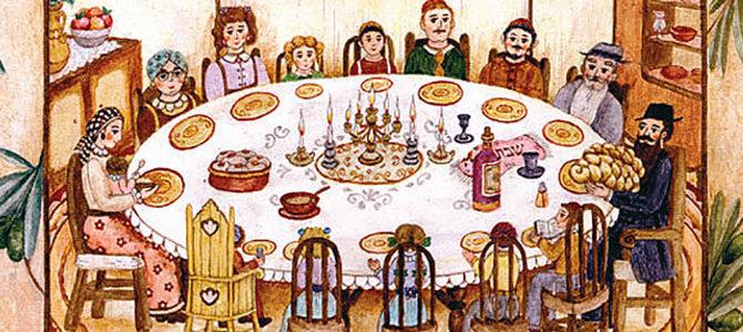 Приглашаем детей и их родителей на встречу Шаббата!