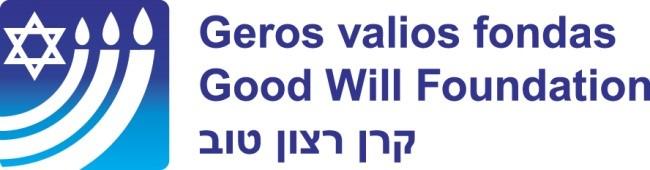 Geros valios fondo pirmininkų Fainos Kukliansky ir Rabino Andrew Baker laiškas Seimo pirmininkui