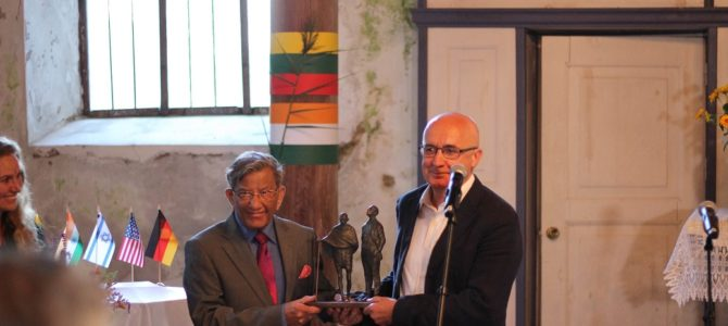 Indian-Lithuanian Friendship Celebrated in Rusnė