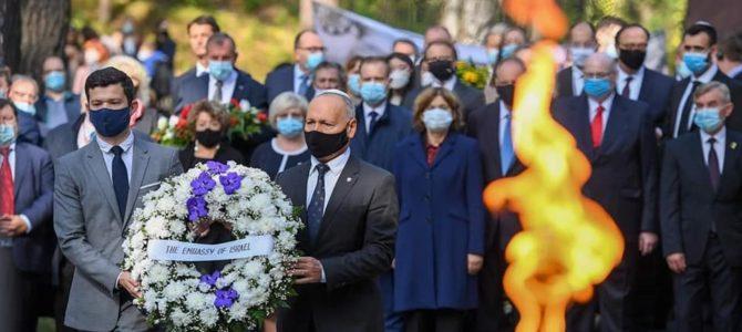 В Панеряй почтили память жертв Холокоста