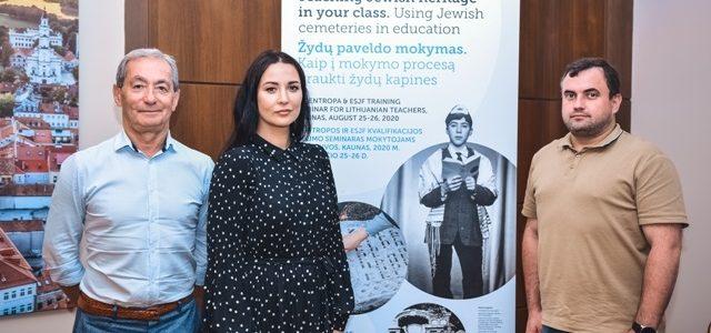 Kaune Lietuvos miestų mokytojai sėmėsi žinių kaip supažindinti moksleivius žydų paveldo ir žydų kapinių tema