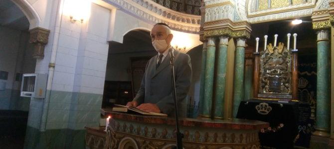 Vilniaus chorinėje sinagogoje skambėjo Holokausto aukų vardai