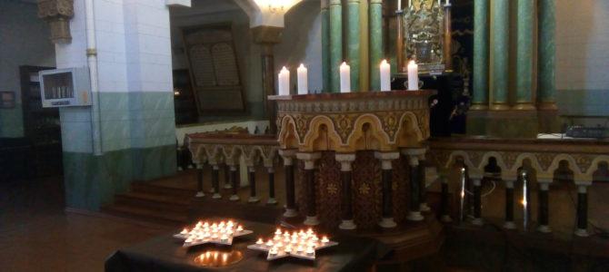 В Вильнюсской Хоральной синагоге звучали имена жертв Холокоста