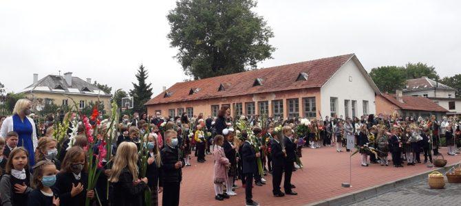 1 сентября в Вильнюсской еврейской гимназии ОРТ им. Шолом-Алейхема