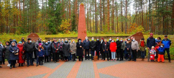 В Швенченисе почтили память жертв Холокоста