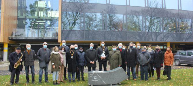 """В Каунасе открыли памятный знак еврейскому спортивному союзу """"Маккаби"""""""