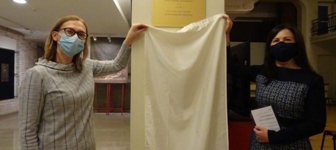 Залу Центра Толерантности Государственного еврейского музея им. Виленского Гаона присвоено имя композитора А. Шендероваса