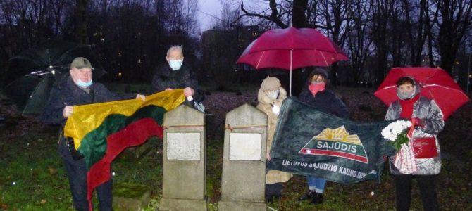 Kauno žydų bendruomenė minėjo karių dieną