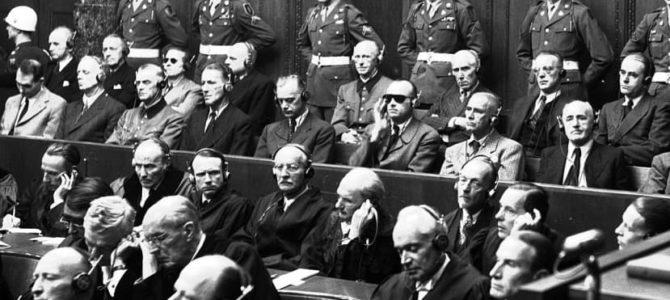 Видеозаписи Нюрнбергского процесса впервые выложены в Интернет