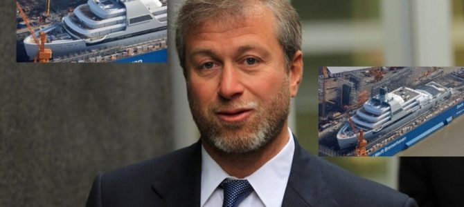 Lithuanian Media on Billionaire Litvak Roman Abramovich and His Yacht