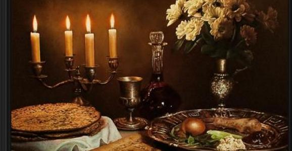Поздравление с праздником Песах