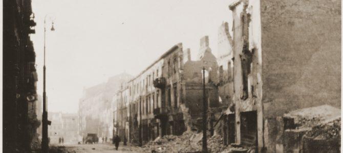 78-ая годовщина восстания в Варшавском гетто
