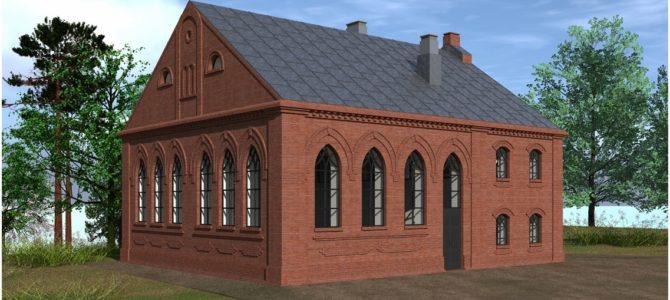 """Istorinės Daugų sinagogos 3D rekonstrukcija entuziastų pajėgomis: """"Ši mūsų kukli iniciatyva atsirado iš elementarios pagarbos istorijai"""""""
