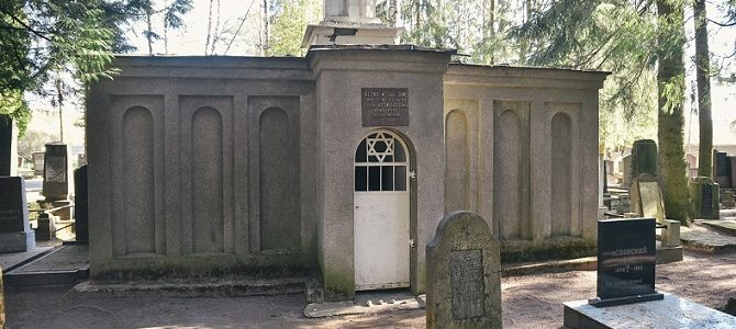 Appeal from Jewish Cemetery Administration in Vilnius