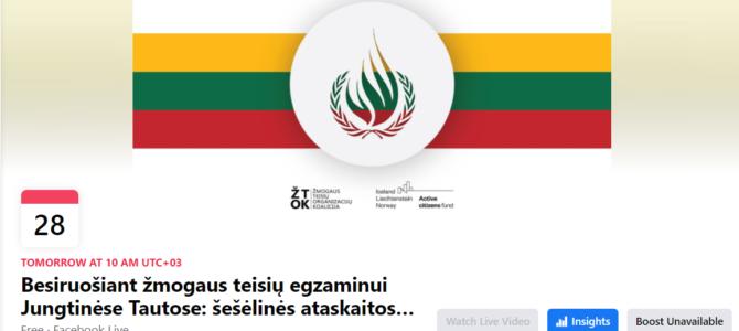 Žmogaus teisių egzaminas Jungtinėse Tautose Lietuvai