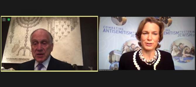 Посланники по борьбе с антисемитизмом призывают к созданию объединенного фронта борьбы с ненавистью