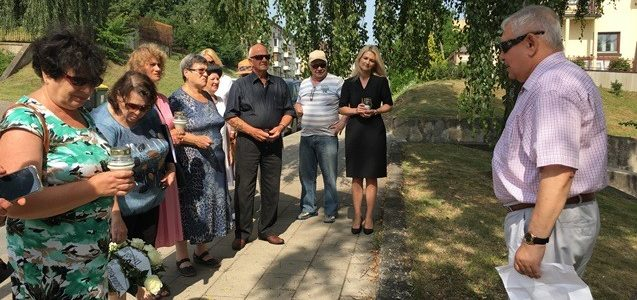 Šiaulių krašto žydų bendruomenės nariai paminėjo Holokausto pradžios ir Šiaulių geto likvidavimo metines