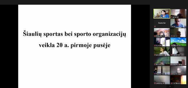 """Šiaulių krašto žydų bendruomenės projektas """"Sportas – neatsiejama sėkmingo žmogaus gyvenimo dalis"""""""