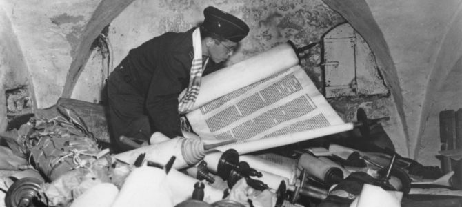 US Seizes Scrolls, Manuscripts Stolen from Jews during Holocaust