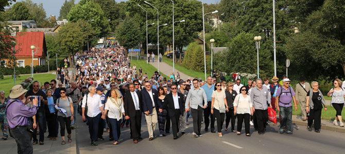 29 августа 2021 года – Марш памяти евреев Молетай