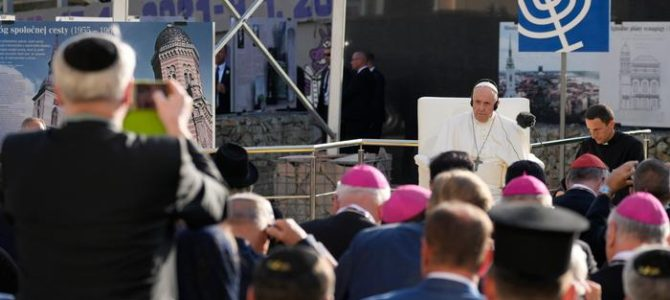 Pope Francis Expresses Shame over Slovakian Holocaust Victims