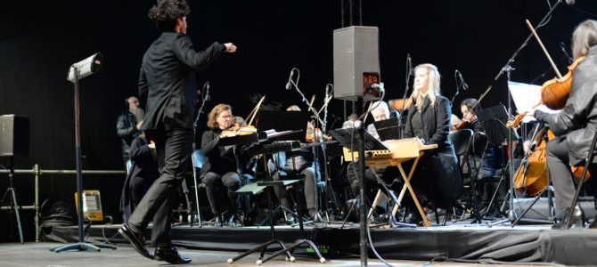 Symphony from Jerusalem of the North Concert in Presidential Courtyard