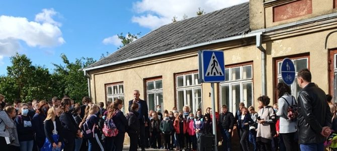 Holocaust Commemoration in Krakės in Central Lithuania