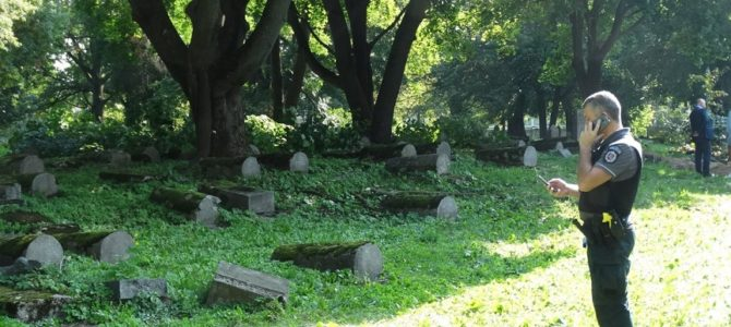Grave Robbers Hit Old Jewish Cemetery in Kaunas