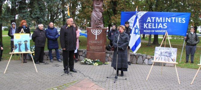 """Holokausto Lietuvoje pradžios 80-čio minėjimas""""1941- 2021 Atminties kelias Panevėžyje"""""""