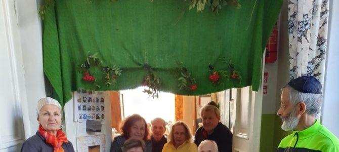 Panevėžys Holds Traditional Sukkot Celebration