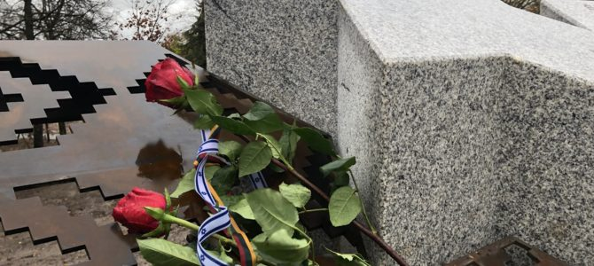 В Шяуляй открыт сквер памяти Праведников народов мира